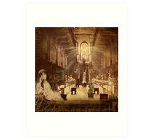 Languishing in the House of Desire Art Print