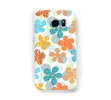 Vibrant Floral Pattern Samsung Galaxy Case/Skin