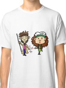 Rogue and Gambit Classic T-Shirt