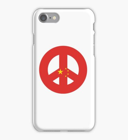 Chinese Peace Symbol iPhone Case/Skin