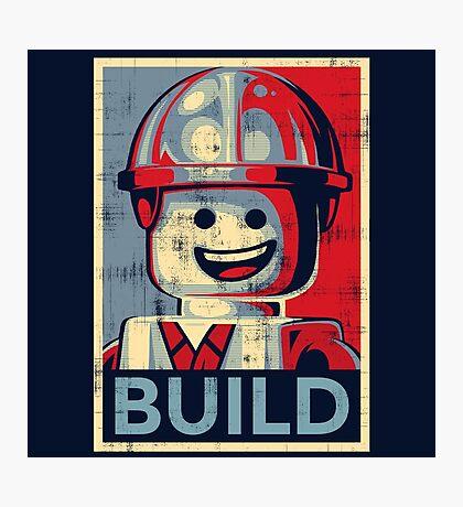 BUILD Photographic Print