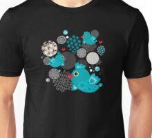 Blue birds. Unisex T-Shirt