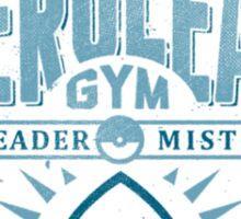 cerulean gym Sticker