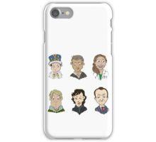 bbc sherlock cast iPhone Case/Skin