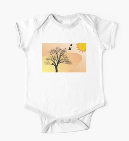 Desert Drawing Products One Piece - Short Sleeve