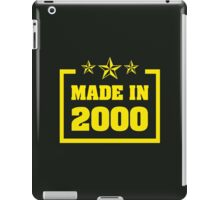 Made in 2000 iPad Case/Skin