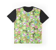 Dachshund Garden Party Graphic T-Shirt