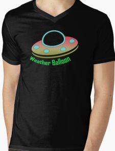 Weather Balloon Mens V-Neck T-Shirt