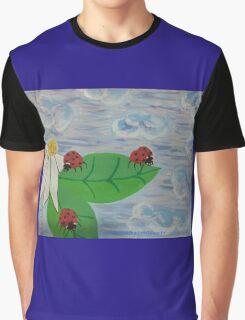 Love Bugs by Diamante Lavendar Graphic T-Shirt