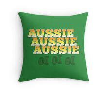 Aussie Aussie Aussie oi oi oi Throw Pillow