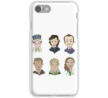 Sherlock Holmes cast iPhone Case/Skin