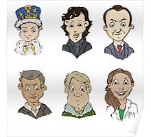 Sherlock Holmes cast Poster