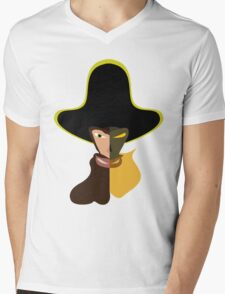 LeChuck Human vs Undead Mens V-Neck T-Shirt