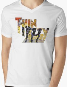 TIN LIZZY JAILBREAK Mens V-Neck T-Shirt