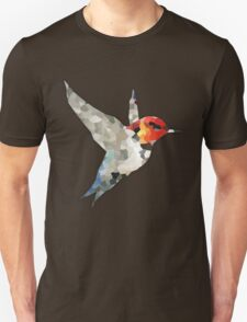 Colorful Hummingbird Mosaic T-Shirt