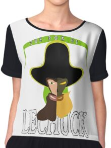 The Pox of LeChuck Chiffon Top