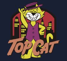 TOP CAT Kids Tee