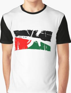 Free Palestine Graphic T-Shirt