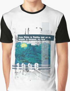 "Monkey Island's: ""From Mêlée to Monkey and all the islands in between, my love..."" Graphic T-Shirt"