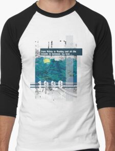 "Monkey Island's: ""From Mêlée to Monkey and all the islands in between, my love..."" Men's Baseball ¾ T-Shirt"