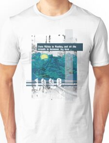 "Monkey Island's: ""From Mêlée to Monkey and all the islands in between, my love..."" Unisex T-Shirt"
