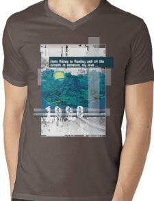 """Monkey Island's: """"From Mêlée to Monkey and all the islands in between, my love..."""" Mens V-Neck T-Shirt"""