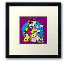 TOP CAT : CARTOON Framed Print