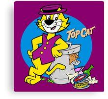 TOP CAT : CARTOON Canvas Print