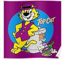 TOP CAT : CARTOON Poster