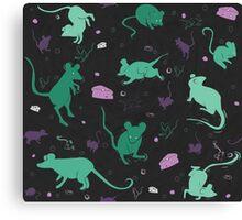 Mouse Pattern Canvas Print
