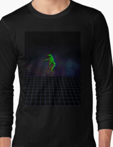 dat boi ! v a p o r w a ve  Long Sleeve T-Shirt