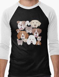 Dog Lover Men's Baseball ¾ T-Shirt