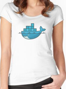 Docker 01 Women's Fitted Scoop T-Shirt