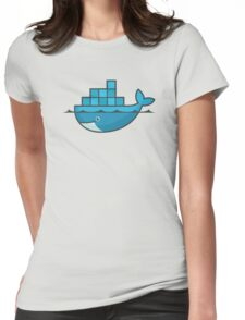 Docker 01 Womens Fitted T-Shirt