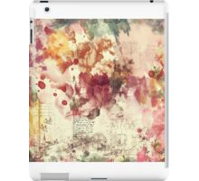 A Touch of Vintage Throw Pillow iPad Case/Skin