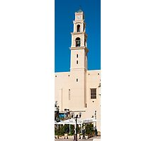 Israel, Jaffa, St Peter church and Monastery Photographic Print
