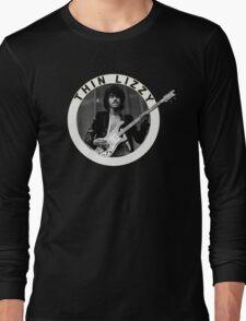 THIN LIZZY PHIL LYNOTT (WHITE) Long Sleeve T-Shirt
