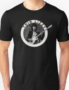THIN LIZZY PHIL LYNOTT (WHITE) Unisex T-Shirt