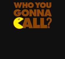 Who You Gonna Call Womens Fitted T-Shirt