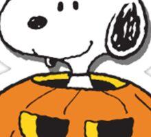 Snoopy Halloween Sticker