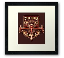 Space Cowboy - Bounty Hunter Framed Print