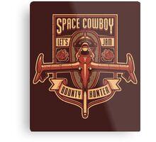 Space Cowboy - Bounty Hunter Metal Print
