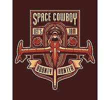 Space Cowboy - Bounty Hunter Photographic Print