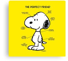 THE PERFECT FRIEND Canvas Print