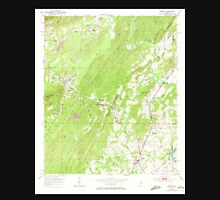 USGS TOPO Map Alabama AL Vincent 305305 1951 24000 Unisex T-Shirt