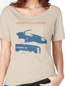 Stereolab- Transient Random-Noise Bursts With Announcements Women's Relaxed Fit T-Shirt