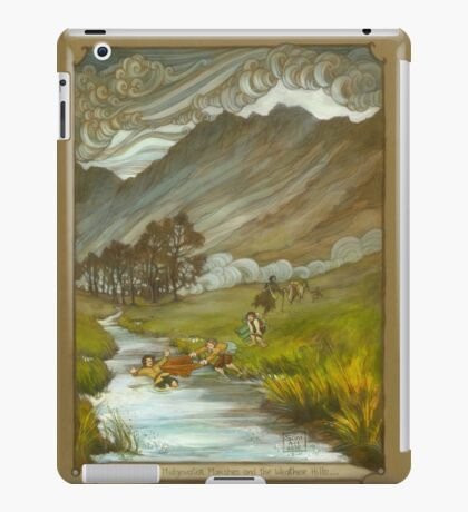 Midgewater Marshes to the Weather Hills iPad Case/Skin