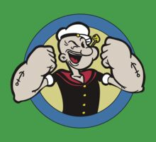 TOUGH GUY : POPEYE One Piece - Short Sleeve
