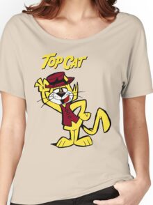 TOP CAT Women's Relaxed Fit T-Shirt