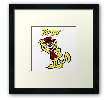 TOP CAT Framed Print